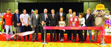 7850万元 泛美运动会体育中心开幕
