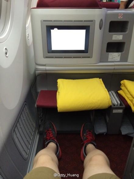 过瘾!海航多伦多-北京787梦幻商务舱网友实拍