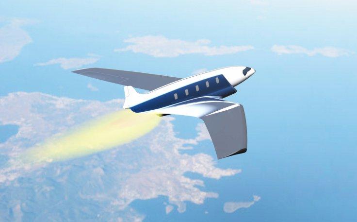 庞巴迪研制超级飞机 回国只需24分钟