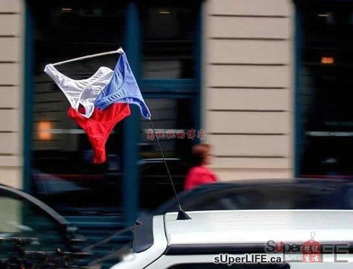 海外华人在阳台院落晾晒内衣裤看傻老外   新闻