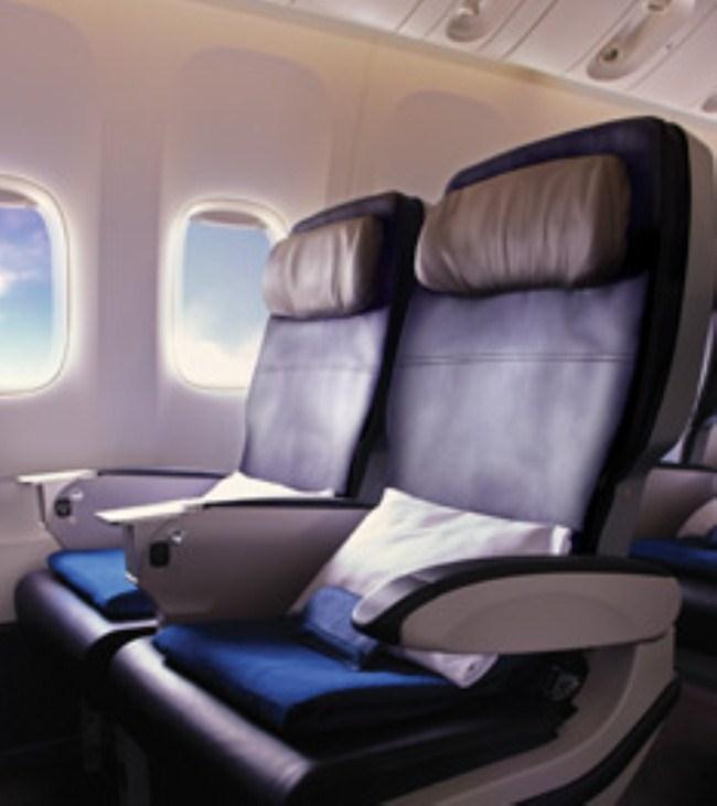 加航飞机座位图