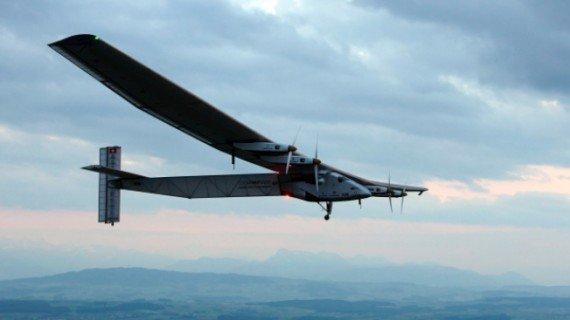 太阳能飞机环球飞行 明年或降落温哥华