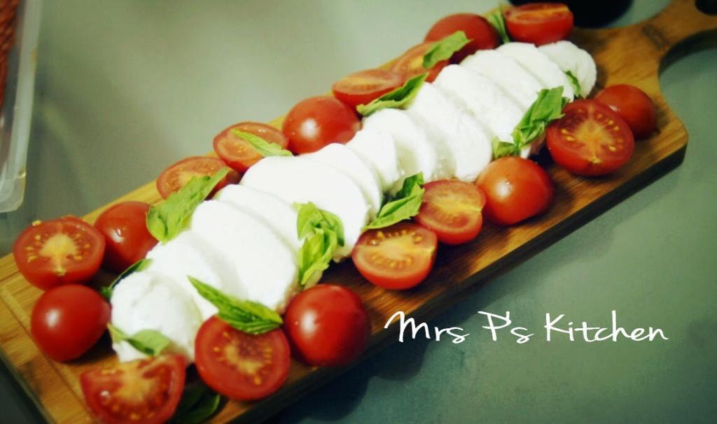 意大利经典:水牛奶酪番茄沙拉
