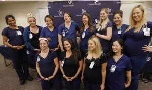 太神奇!同病房16名护士接连怀孕