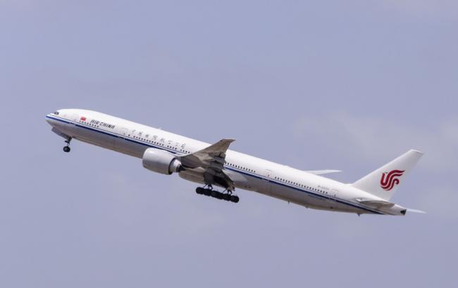 中国 国航开新航线 美国纽瓦克直飞北京