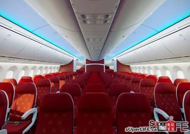 海南航空执行卡城至北京的往返直飞.