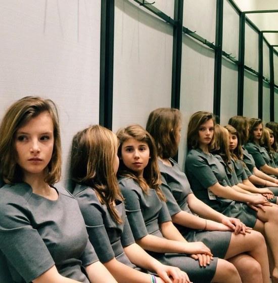 这张图快把老外逼疯啦!图中到底有几个女孩?
