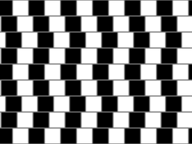 这些令人抓狂的视觉错觉照片