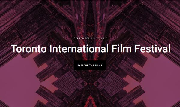 收藏!2016多伦多国际电影节(TIFF)攻略