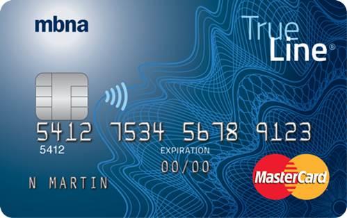 「MBNA TrueLine MasterCard」的圖片搜尋結果