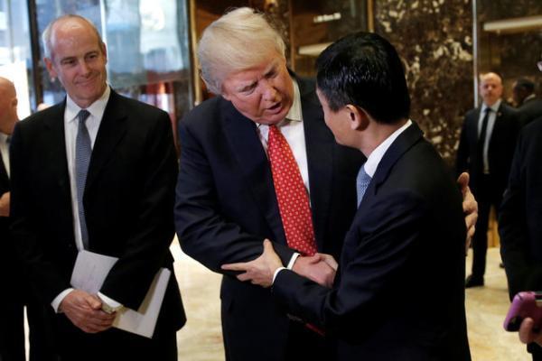 特朗普会见马云 都讨论了什么?