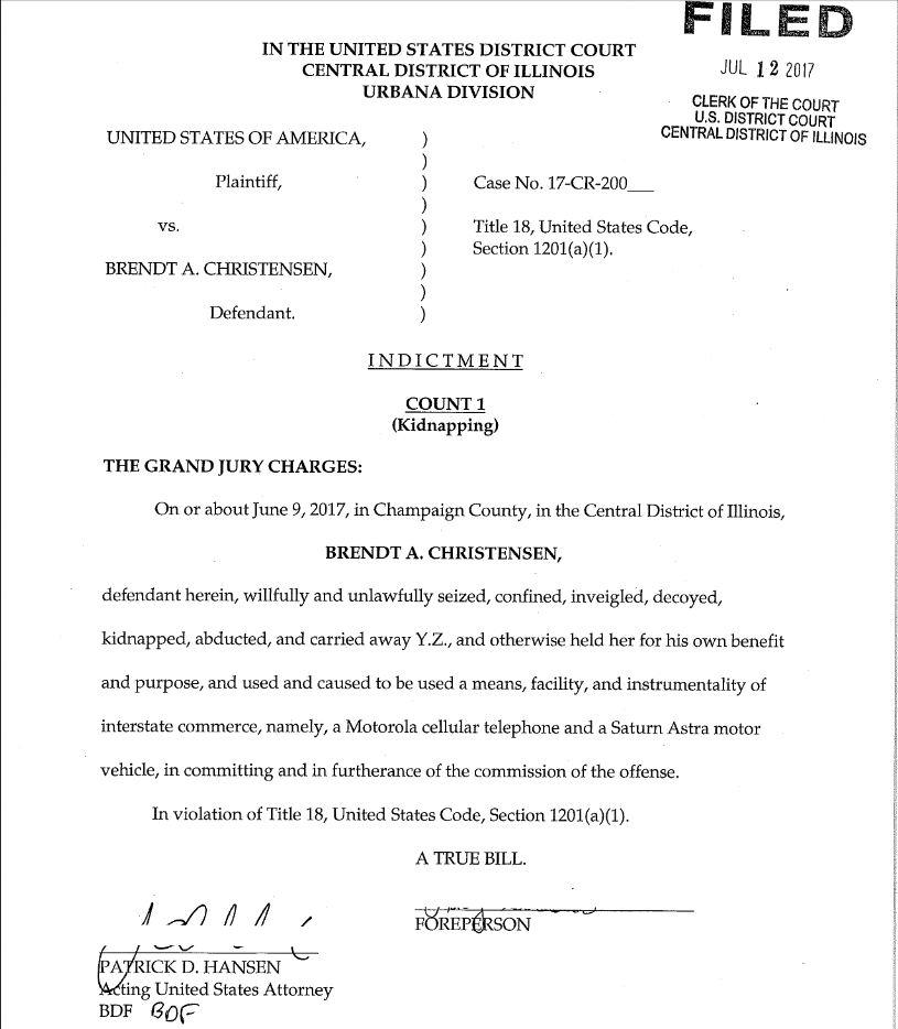 章莹颖绑架案嫌犯被以绑架罪名正式起诉!或面临终身监禁_图1-2