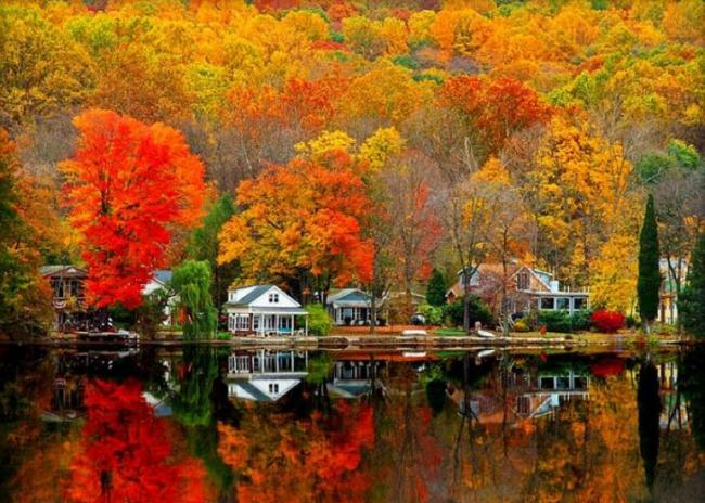 秋日加拿大 据说是这个星球上最美的国家图片