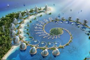 设计师打造随太阳旋转建筑物 生态度假村