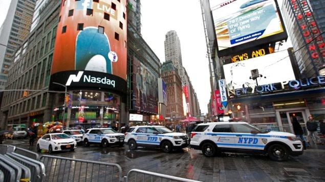 美国时代广场是恐怖组织袭击的理想目标