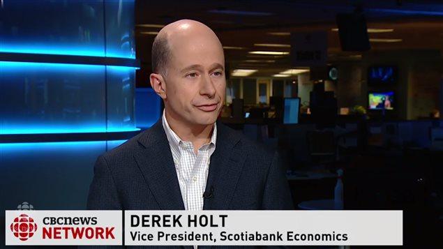 加拿大丰业银行经济部副总裁Derek Holt