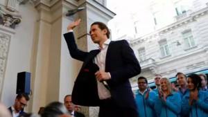 奥地利大选结果 31岁外长成欧洲最年轻总