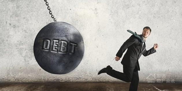 Image result for 加拿大人债务又升了
