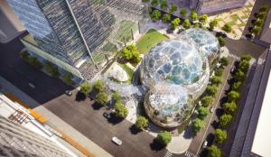 感觉全世界的总部大楼都输给了亚马逊的总