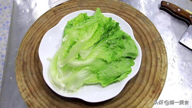 蚝油生菜怎么做,厨师长教你详细做法,开水一烫好吃又营养