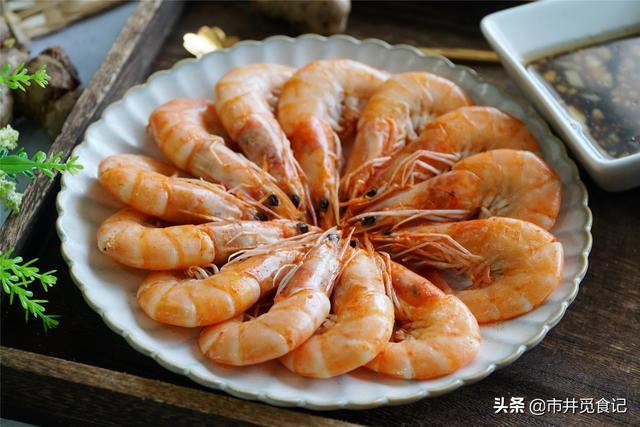 鲜虾,用水煮大错特错,学会渔民这一招,鲜味不流失,特别简单