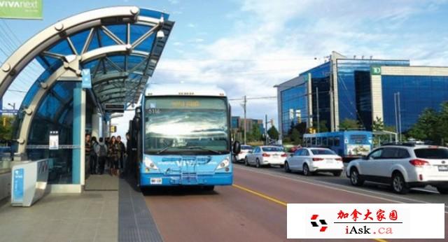 多伦多狂砸7.9亿建公交专用车道,明年开