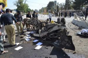 巴基斯坦2市3爆炸案 酿至少26死百多伤