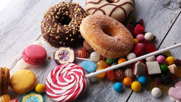 甜甜圈棒棒糖巧克力球糖果