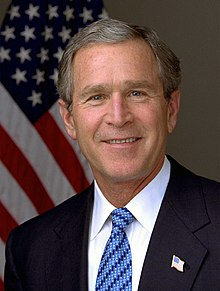 乔治·沃克·布什- 维基百科,自由的百科全书